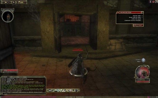 Dungeons and Dragons Online Combat